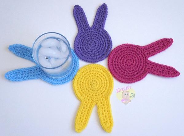 Bunny Coasters