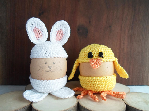 Cute Crochet Egg Holder