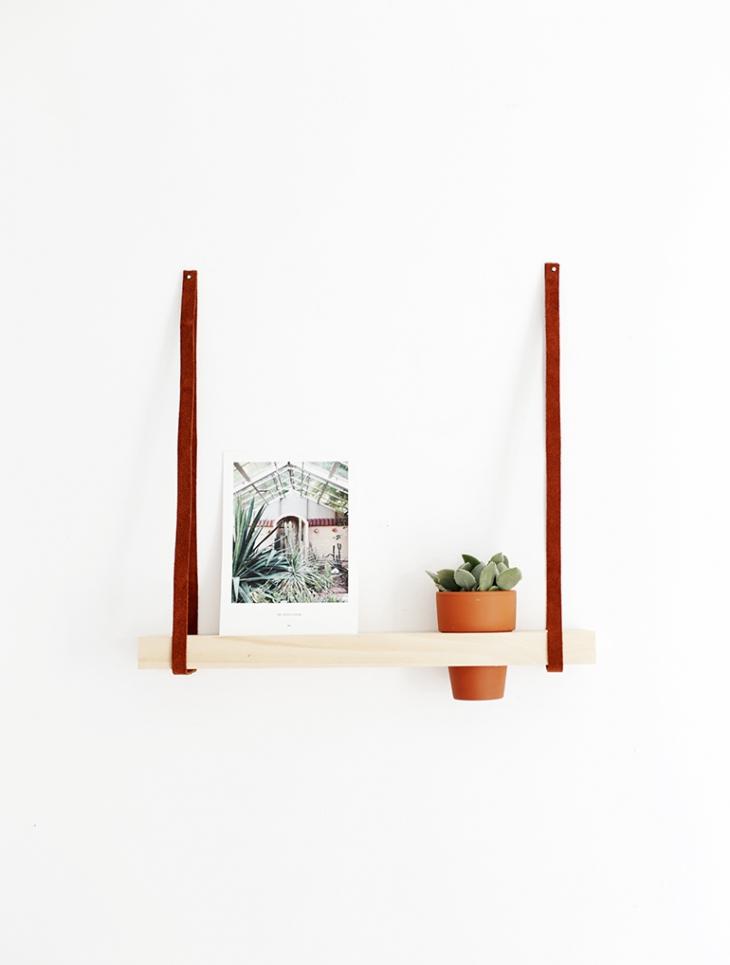 Hanging Photo Shelf