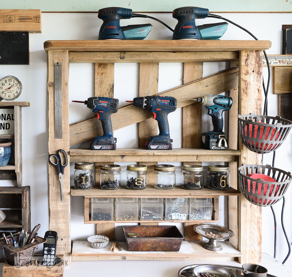 Tool Storage Shelf