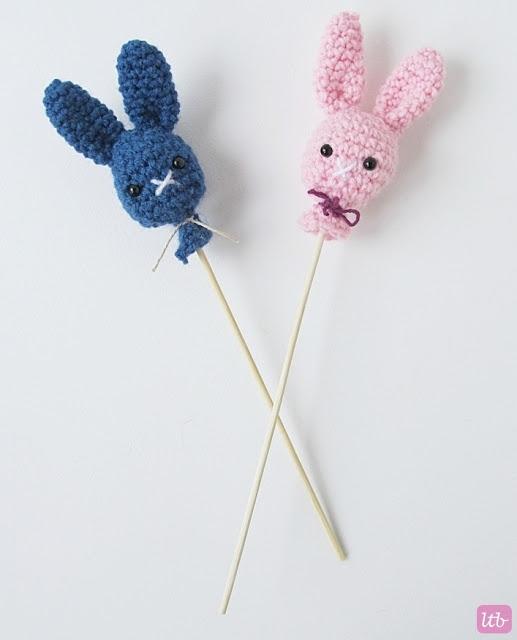 Amigurumi Bunny Pops