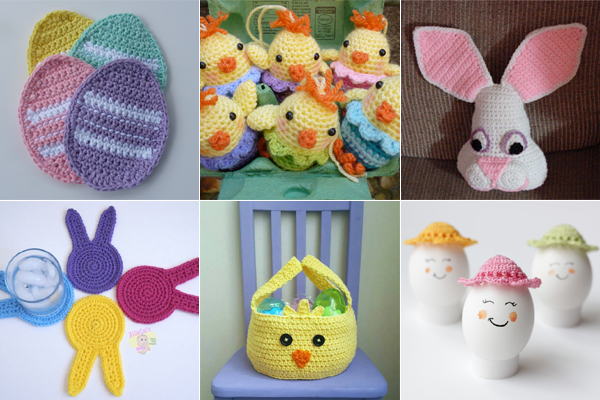Crochet Easter : Collection Free Easter Crochet Patterns Pictures - Norvor