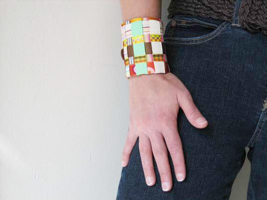 Toilet Paper Roll Cuff Bracelet