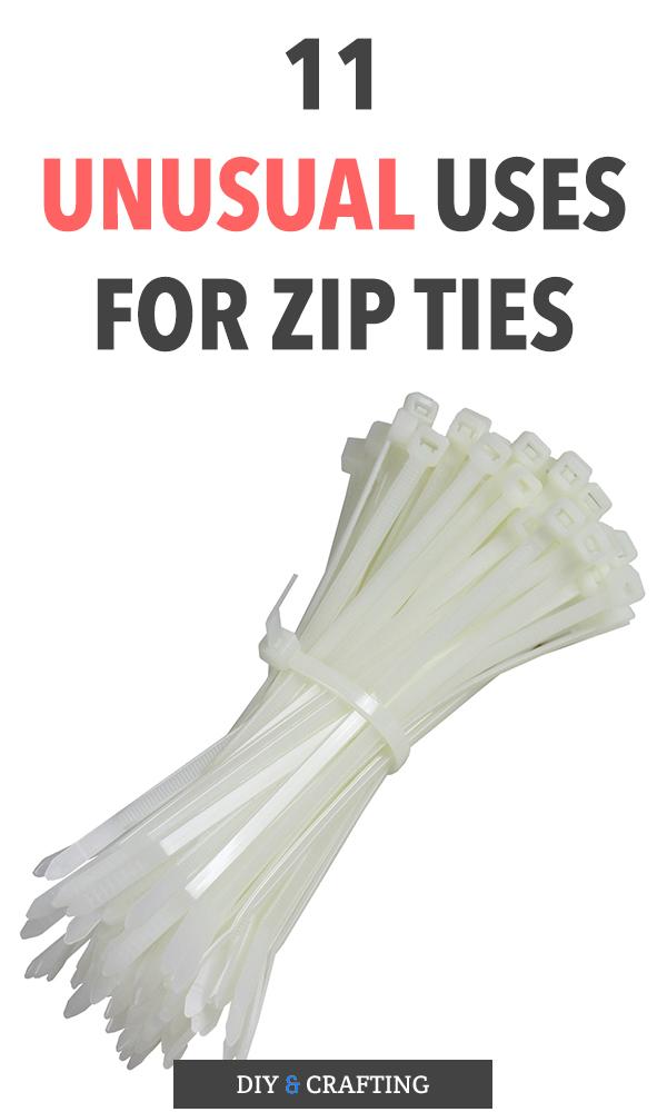11 Unusual Uses for Zip Ties