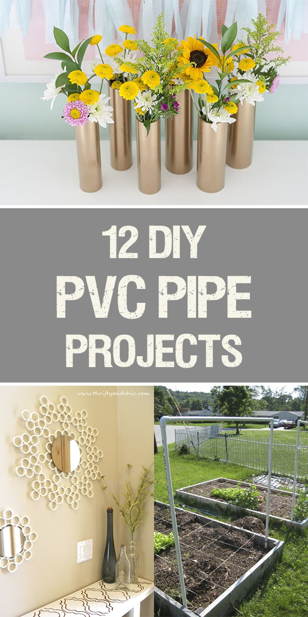 12 Amazing DIY PVC Pipe Projects for Your Home