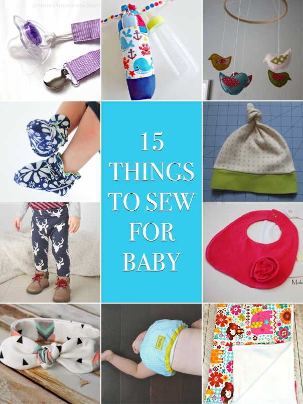 15 Cute Things to Sew for Baby