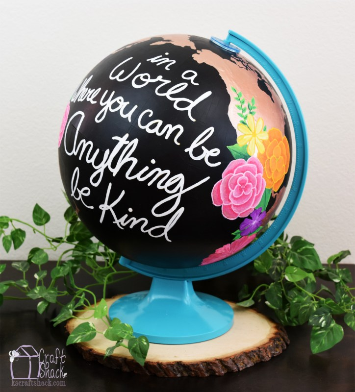 Altered World Globe Art