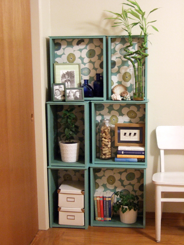 Bookcase from Old Drawers