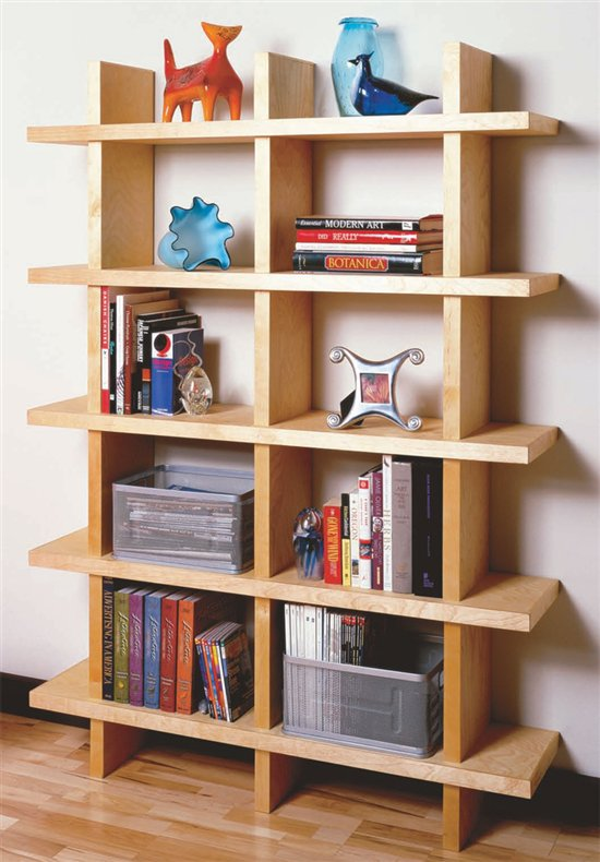 Do It Yourself Home Design: 12 Cheap And Attractive DIY Bookshelves You Can Build Yourself