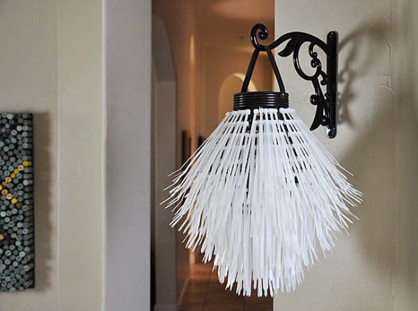 Create your own unique and interesting lighting fixture