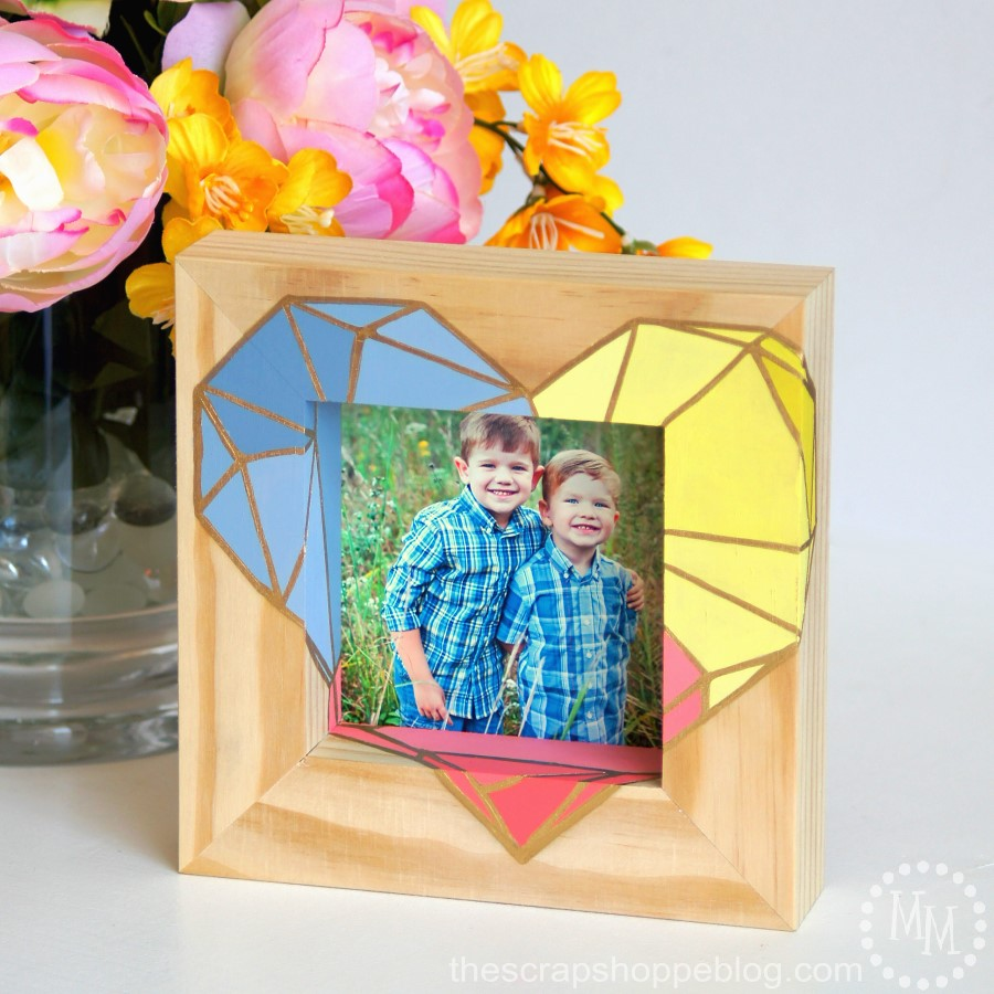 Geometric Heart Frame