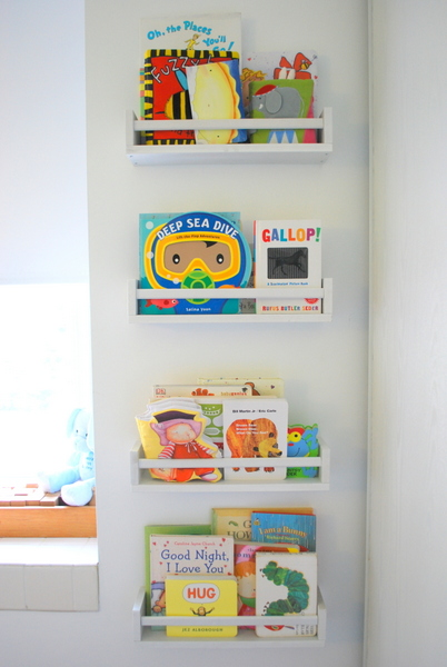 IKEA Spice Racks As Bookshelves