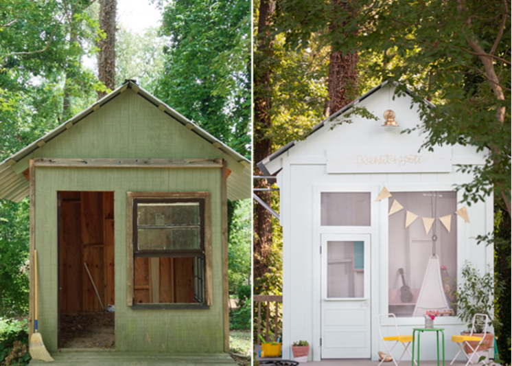 Make Your Shed A Playhouse
