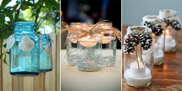 17 Amazing Diy Mason Jar Candle Holder Ideas