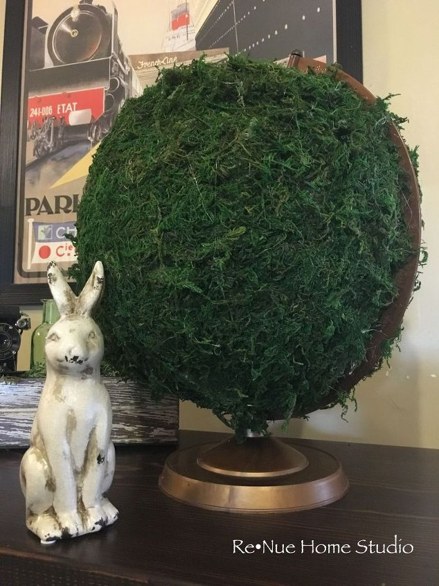 Moss Covered Globe