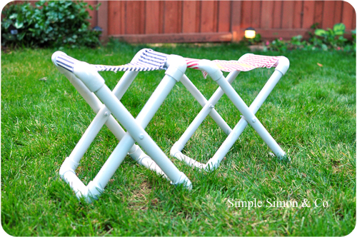PVC Camp Chairs