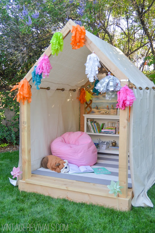 Platform Tent Playhouse
