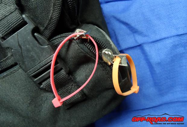 Need to repair a broken zipper? Use a zip tie!