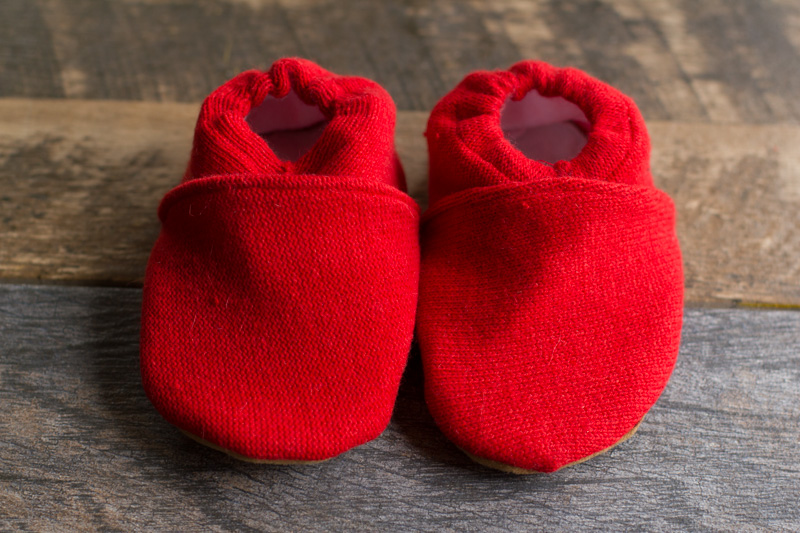 Sweater Baby Booties