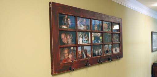 wall mounted french door photo gallery and coat rack