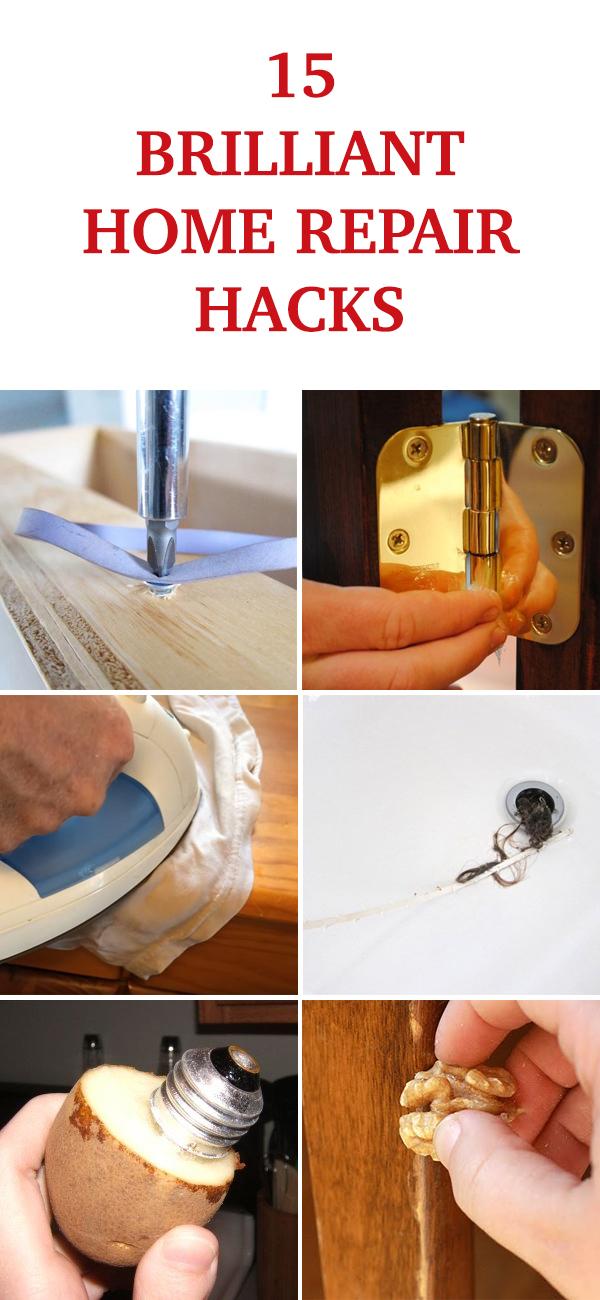 15 Brilliant Home Repair Hacks Everyone Should Know!