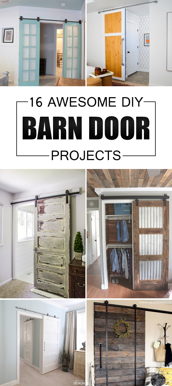 16 Awesome DIY Barn Door Projects That Will Enhance the Beauty of Your Home