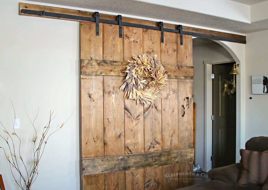 6′ Wide Rustic Barn Door