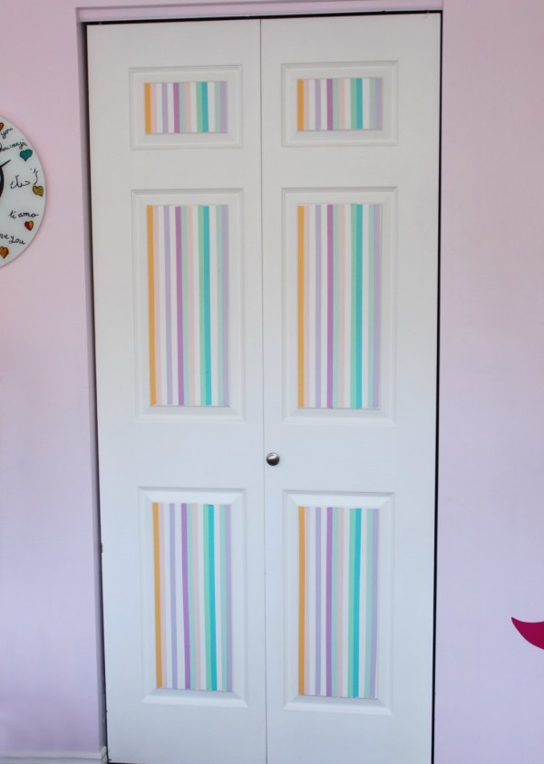 Add some color to the boring door