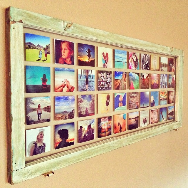 Antique Window Photo Frame