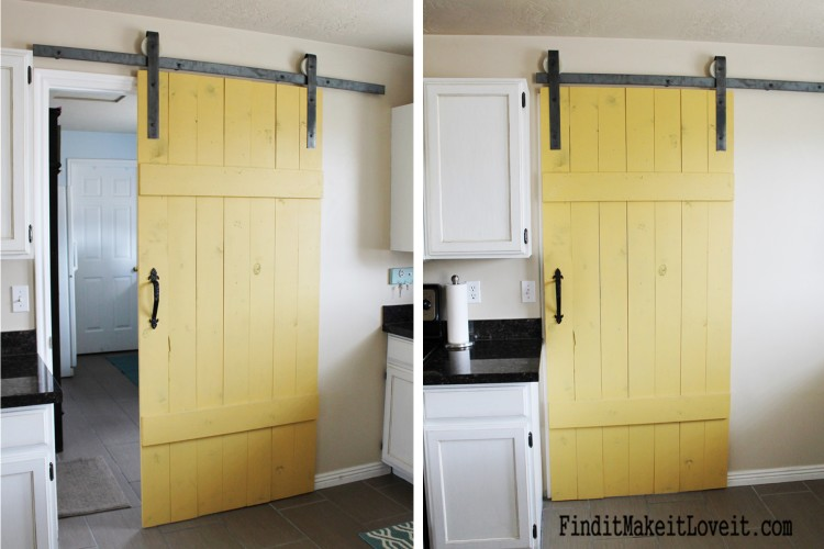Kitchen Barn Door