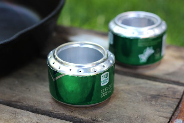 Turn Soda Cans Into a Portable Camp Stove