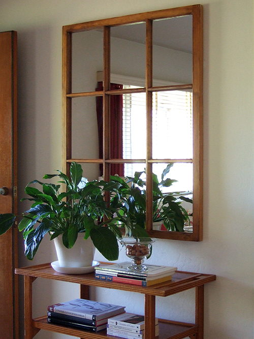 Turn an Old Window into a Mirror