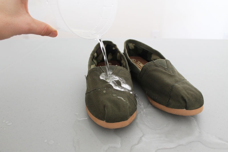 Waterproof Canvas Shoes with Beeswax