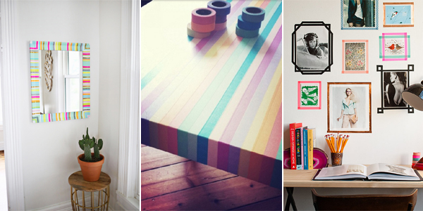 15 amazing things you can do with washi tape for What can you do with washi tape