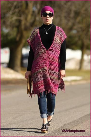Tunic Style Poncho