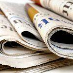 Newspaper craft ideas