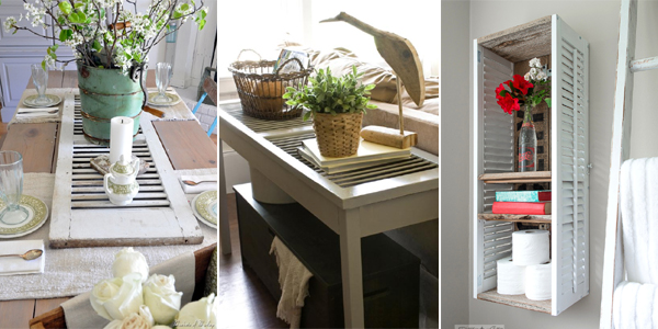 Old Shutter Home Decor Ideas