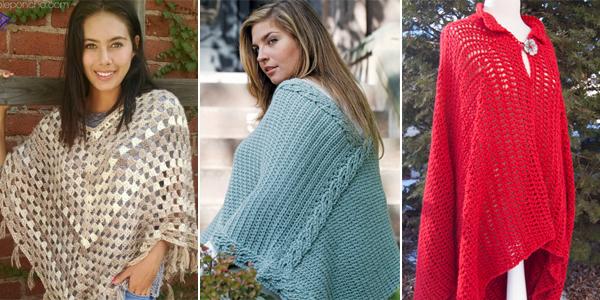 Poncho Crochet Patterns