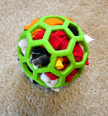 Stuffed Ball Dog Toy