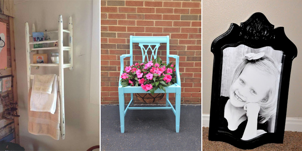 Things You Can Do with Old Chairs