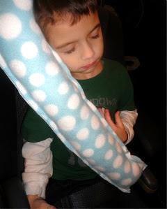 Travel Seat Belt Pillow