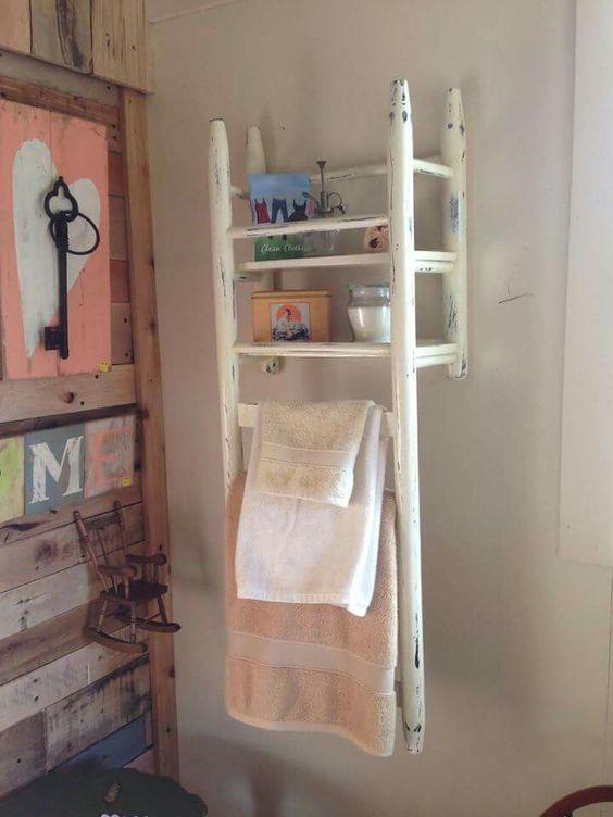 Upside-Down Shelf