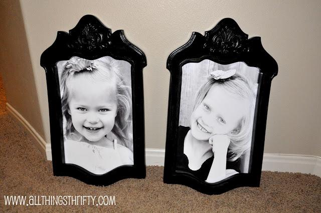 Use Chair Backs as Photo Frames