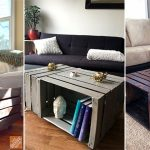 Wooden Crate Coffee Table Ideas