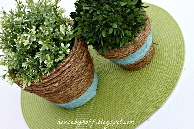 Wrap your pots with rope