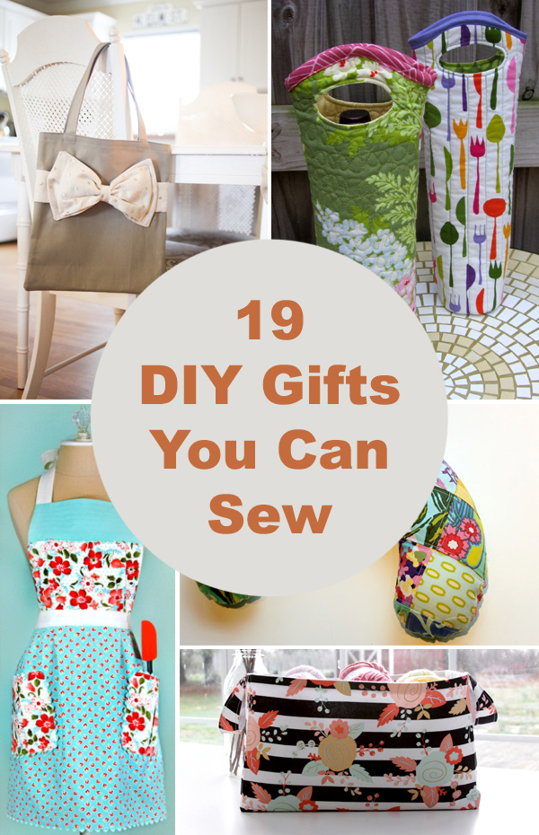 19 Cute DIY Gifts You Can Sew