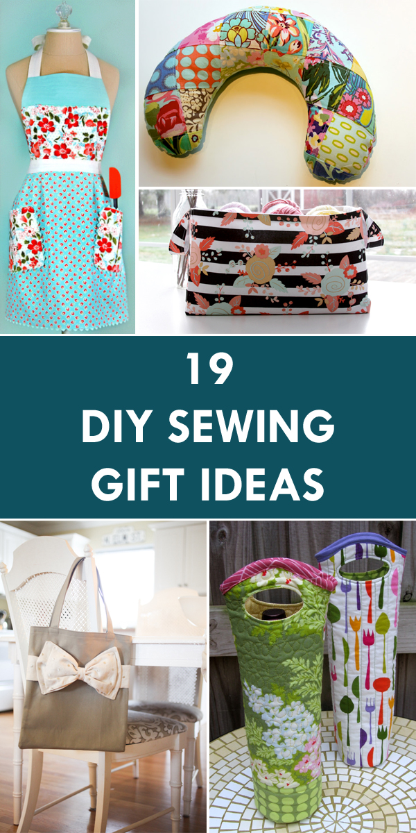 19 Wonderful DIY Sewing Gift Ideas