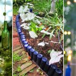 DIY Wine Bottle Ideas for the Garden