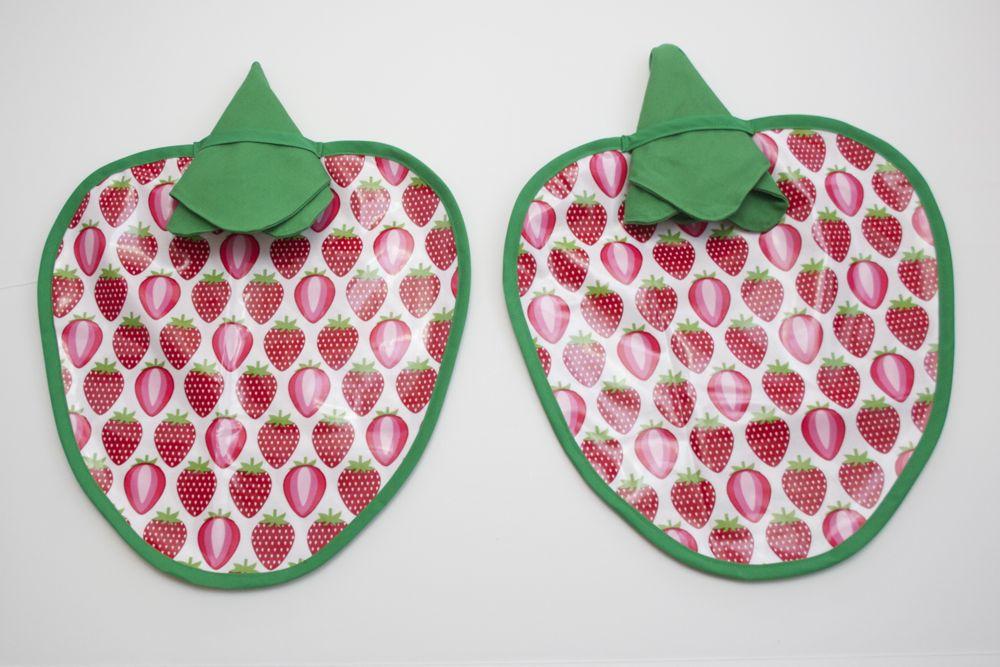 Laminated Strawberry Placemat Set
