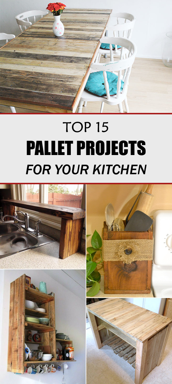 TOP 15 DIY Pallet Projects for Your Kitchen